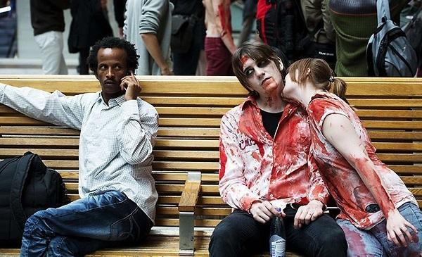 Black Man Sees Zombie Love