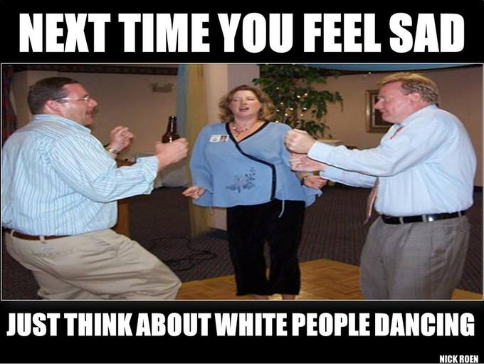 White People Dancing