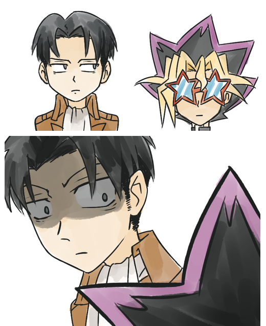 Levi Meets The Only Anime Character Shorter Than Himself