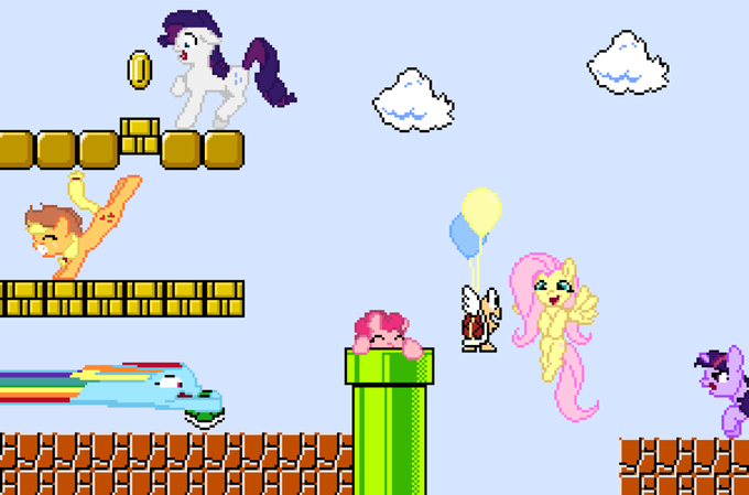 Super Pony Bros 3