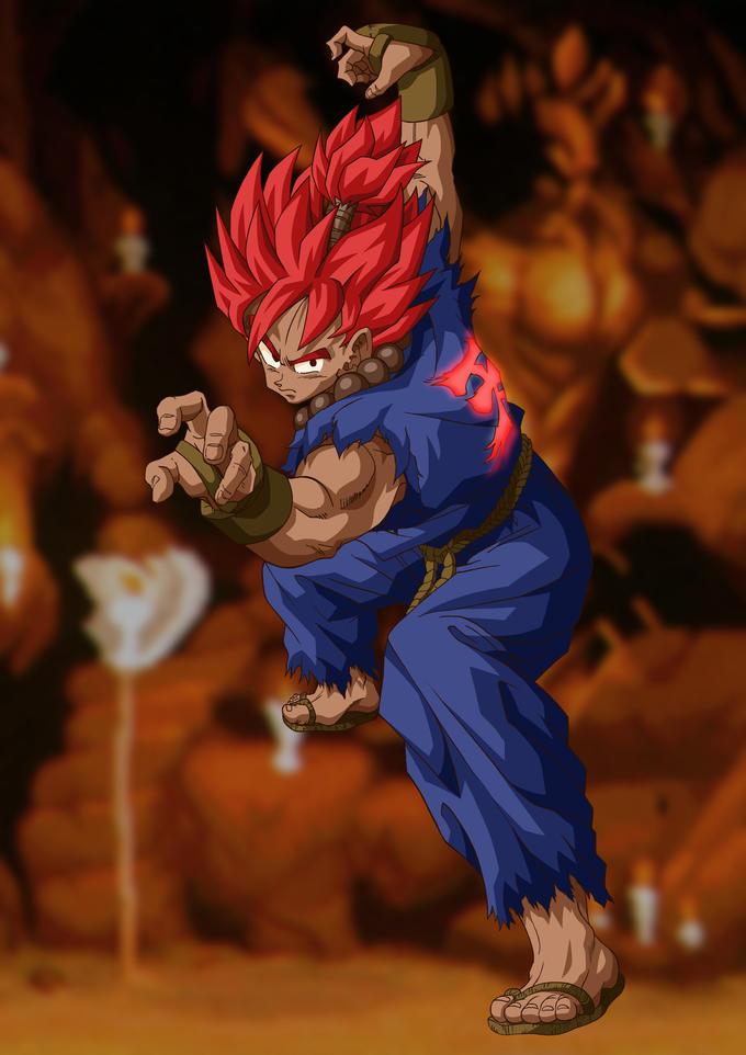 Gokuma Goku(DBZ) + Akuma (Street Fighter)