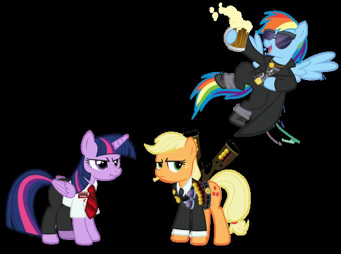 Cornetto Ponies