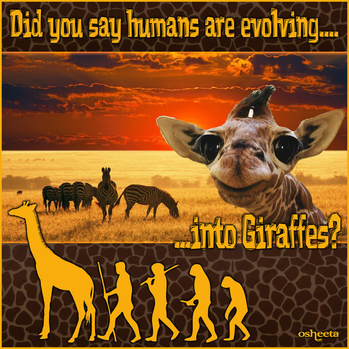 Human Evolution - The Great Giraffe Challenge