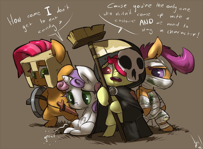 The 4 Fillies of the Apocalypse