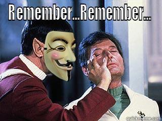 Remember..Remember...