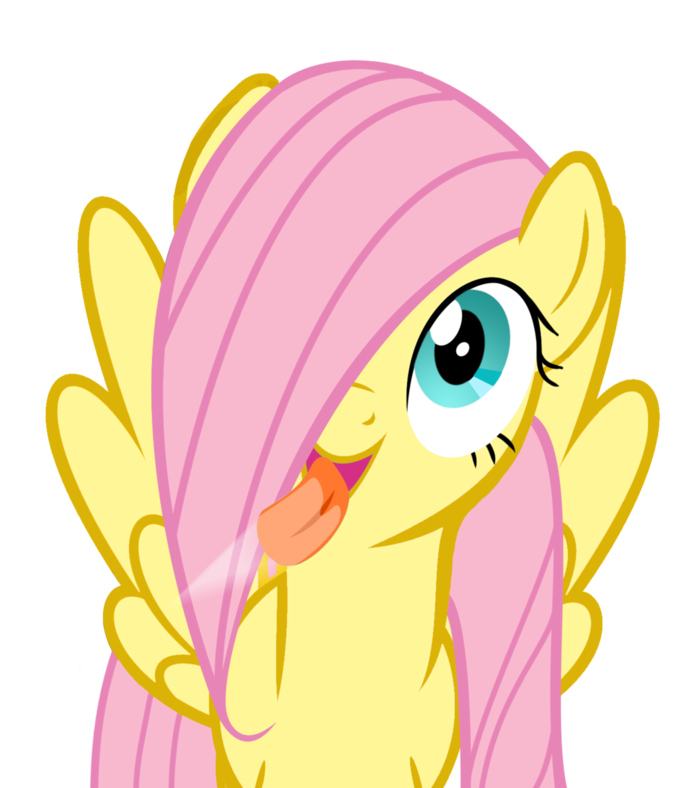 ce6 fluttershy licking the screen my little pony friendship is,Licking Screen Meme