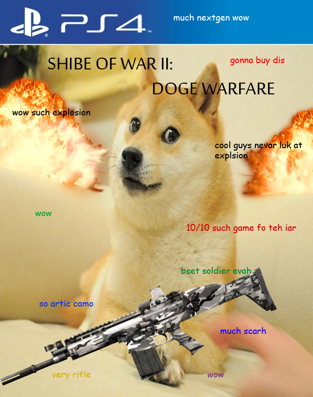 Shibe Of War II: Doge Warfare such gud game wow much better than cod wow