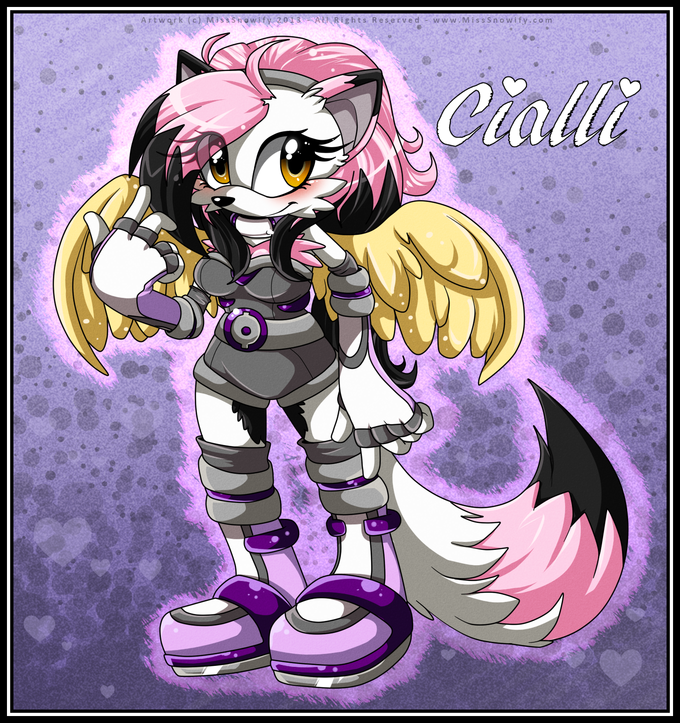 Cialli the Winged Fox