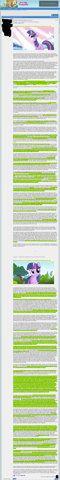 """Uploaded on the MLP gallery a while back, I'm proposing this again. IB4 """"TL;DR"""""""