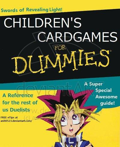 af2 children's card games for dummies x for dummies know your meme