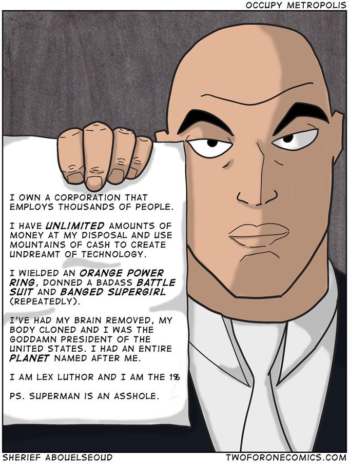 Occupy Luthor