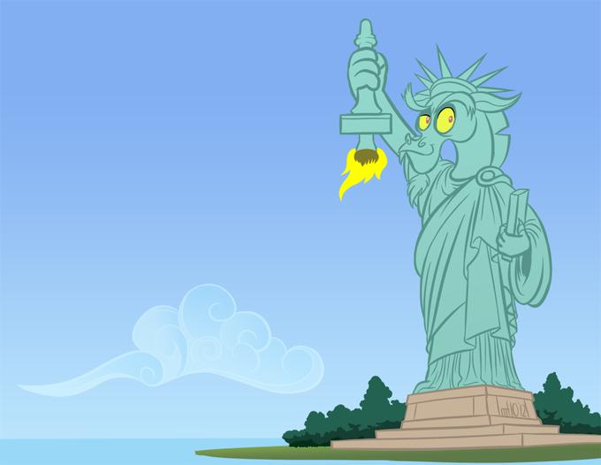 Statue of Discord