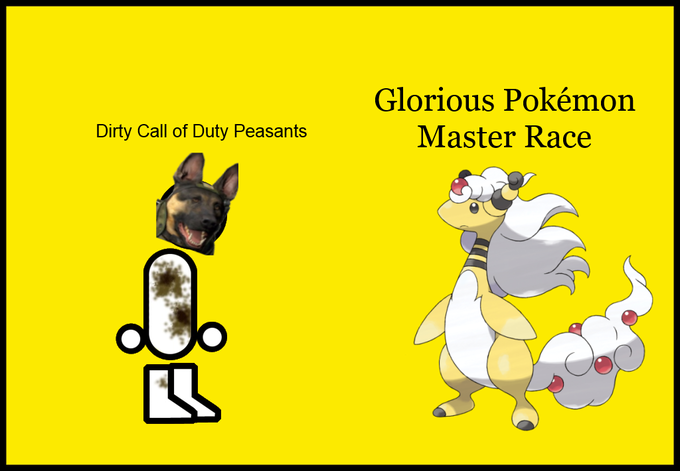Glorious Pokemon Master Race