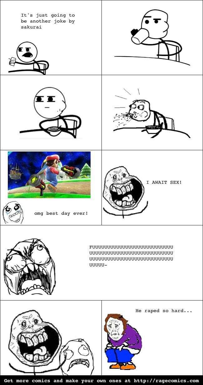 SMASH RAGE COMIC #1