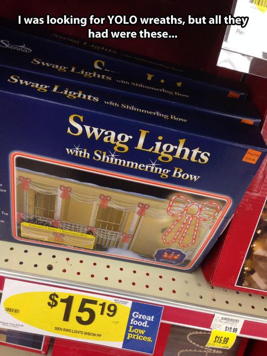 Swag Christmas Lights   Swag   Know Your Meme