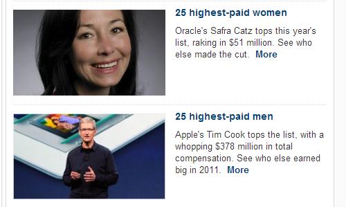 What wage gap?