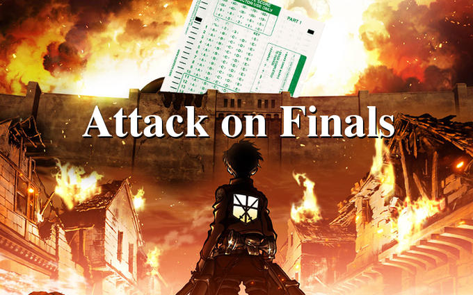 We lived in fear of finals