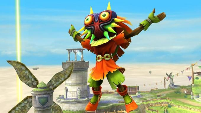 Skull Kid and Majora's Mask confirmed as an Assist Trophy