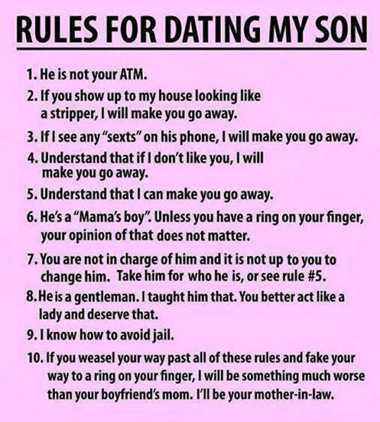 Rules From Mom