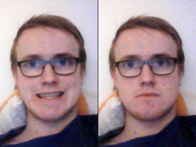Thin hair glasses