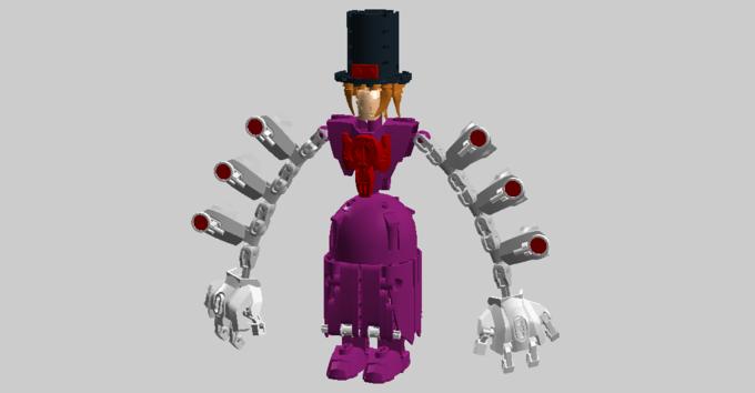 Lego Digital Designer - Peacock