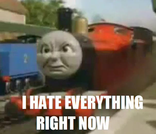 Image result for thomas the train meme