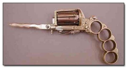 Knife Gun Knuckle