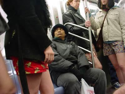 No Pants Subway Ride 2003