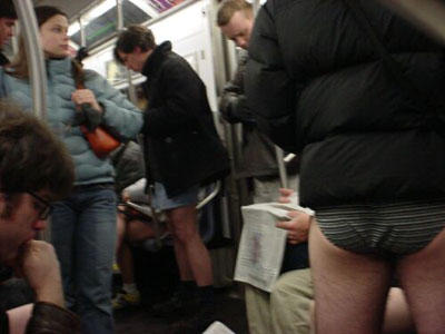 No Pants Subway Ride 2004