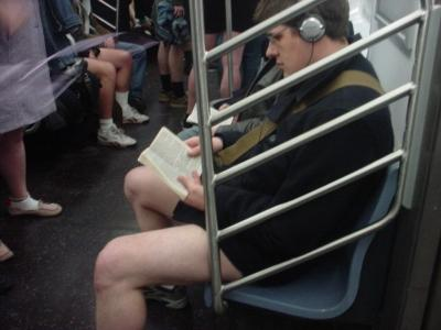 No Pants Subway Ride 2005