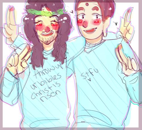 Saint Young Men sweatshirts