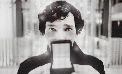 DAYUM SHERLOCK! YOU KAWAII