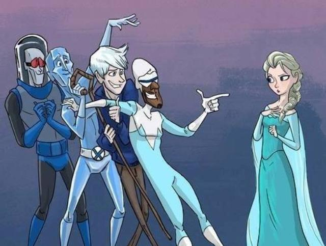 There is a dearth of women with magical ice powers?