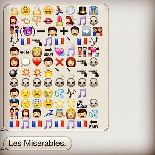 Les Miserable Emojis