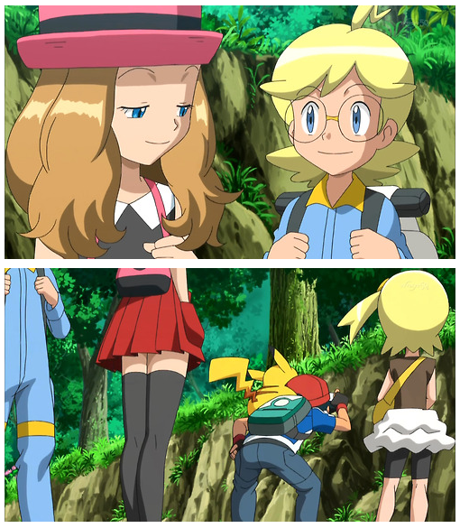 Serena checkin' out dat booty like