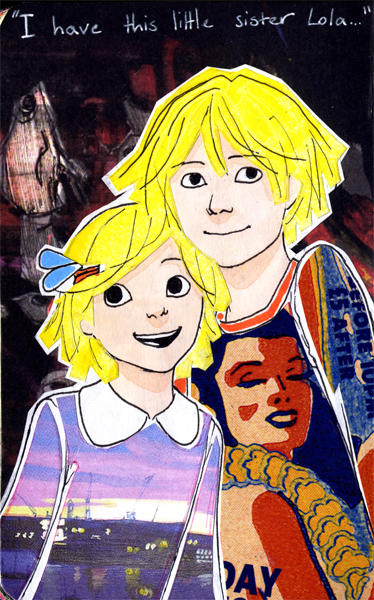 Older Charlie and Lola (If you haven't heard of this show, PLEASE check it out. It's cute and Brtitish.)