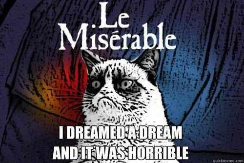Grumpy Cat Les Miserables