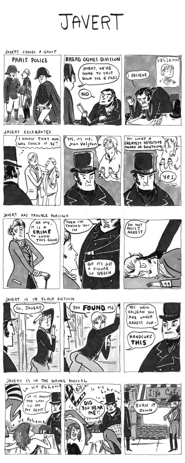 Hark a Vagrent Javert