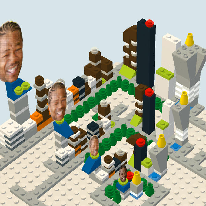 Yo Dawg, I Herd U Like Parks in Cities, So I Put a Park in a City in a Park in a City in a...