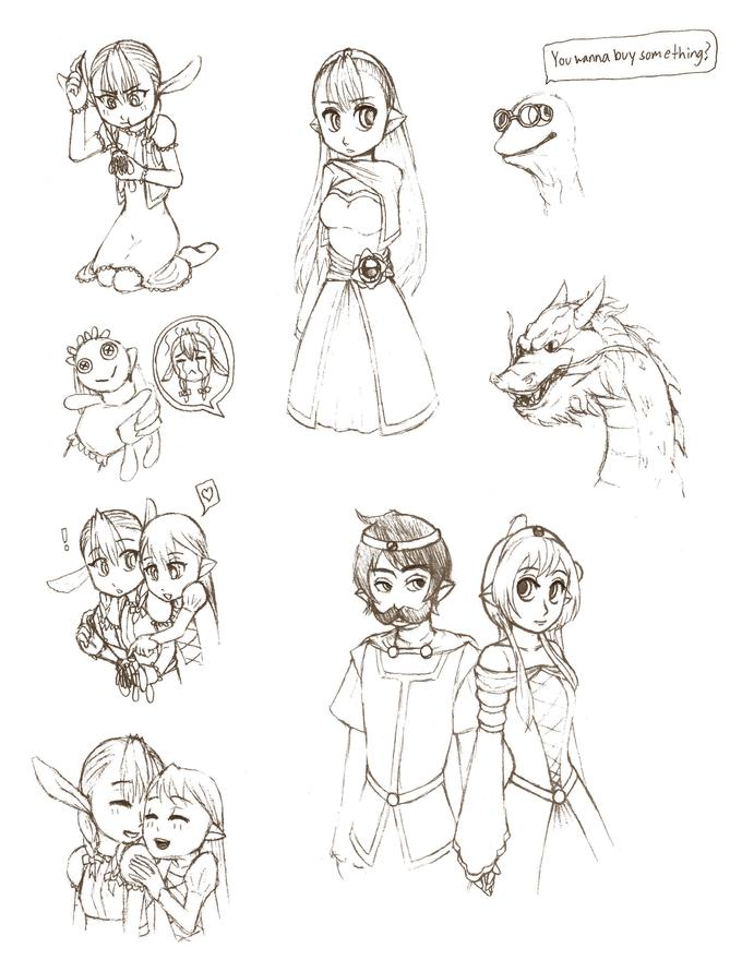 Kym Chronicles Doodles 2