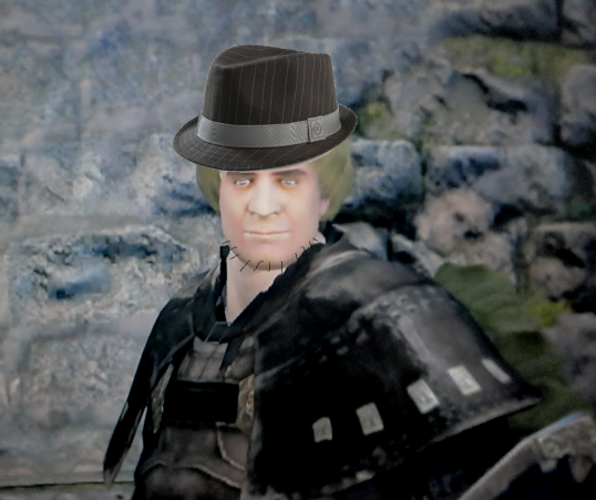 """the amount of """"m'lady"""" this guy spoke"""
