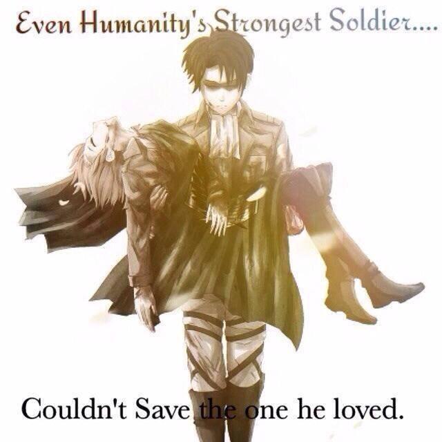 Levi S Sorrow Attack On Titan Shingeki No Kyojin