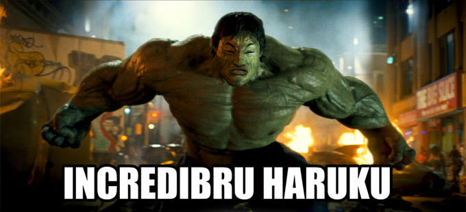 incredibru haruku