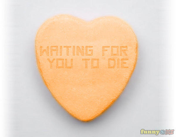 Waiting For You To Die Heart