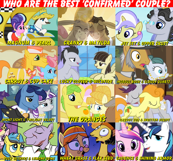 """Who are the best """"confirmed"""" couple?"""
