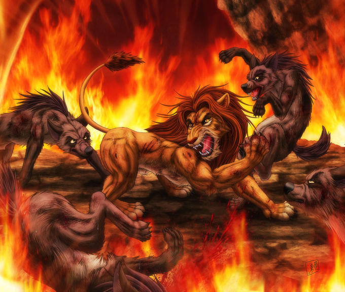 The Lion King Fire