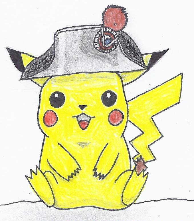 Pikachu French Revolution