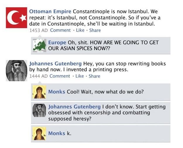 Istanbul Facebook History