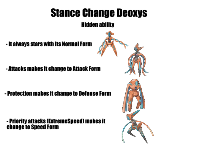 Stance Change Deoxys