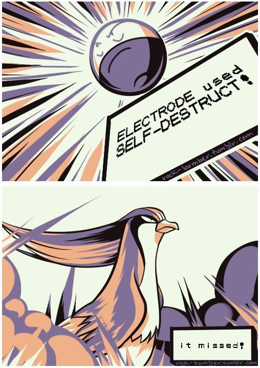 8c5 electrode used self destruct! twitch plays pokemon know your meme,Pokemon Know Your Meme